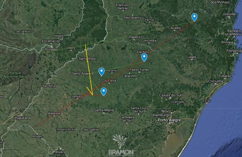 Mapa preliminar